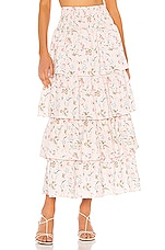 WeWoreWhat Paloma Skirt in Evening Sand