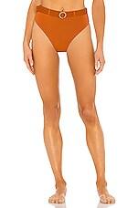 WeWoreWhat Emily Bikini Bottom in Bran