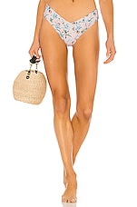WeWoreWhat Delilah Bikini Bottom in Evening Sand