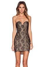 Get Bodied Dress in Black Lace