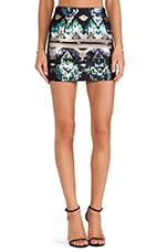 Electrify Aztec Mini Skirt in Print