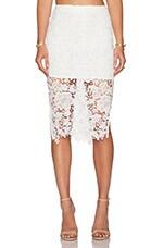 Deal Breaker Skirt in White
