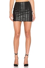 Ziggy Mesh Skirt in Black