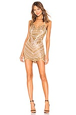 X by NBD Bono Embellished Mini Dress in Multi Color