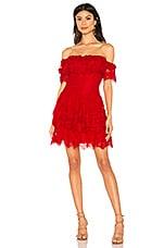 X by NBD Simi Mini Dress in Racing Red