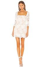 X by NBD Tove Mini Dress in Ivory