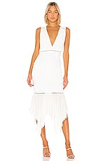 X by NBD Tarron Midi Dress in White