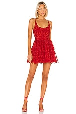 X by NBD Chase Mini Dress in Candy Red