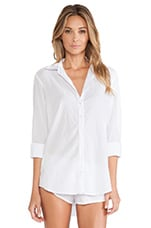 Beau Button Up in White