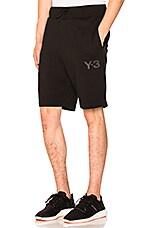 Y-3 Yohji Yamamoto Classic Shorts in Black
