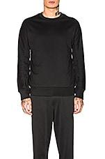 Y-3 Yohji Yamamoto Classic Crew Sweater in Black