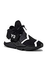 Y-3 Yohji Yamamoto Kaiwa Knit in Black Y3 & White & Black Y3