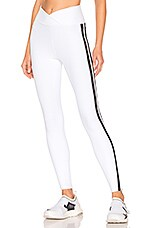 YEAR OF OURS Thermal Racer Legging in White & Black