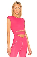 YEAR OF OURS Kayla Top in Hot Pink