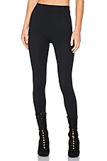 Seamless Athletic Knit Legging in True Onyx