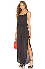 Young, Fabulous & Broke Palms Jumpsuit in Solid Black Sands