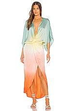 Young, Fabulous & Broke Siren Dress in Tropic Ombre Wash