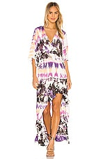 Young, Fabulous & Broke Thea Dress in Orchid Dominica Wash