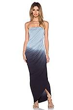 Hamlin Maxi Dress in Charcoal Ombre