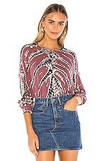 Young, Fabulous & Broke Coraline Sweatshirt in Soft Plum Frame Wash