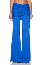 Marina Pant in Solid Blue