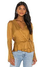 Young, Fabulous & Broke Avery Top in Olive Bark