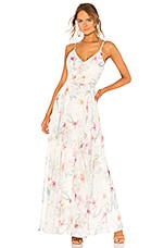 Yumi Kim Peace and Love Maxi Dress in Spring Fling