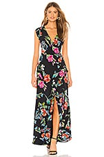 Yumi Kim Swept Away Silk Maxi Dress in Flower Child