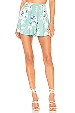 Yumi Kim Rosebud Shorts in Wanderlust Jade