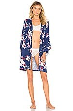 Yumi Kim Dream Lover Robe in Tapestry Navy