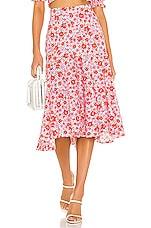 Yumi Kim Ann St Skirt in Groovy Sunshine
