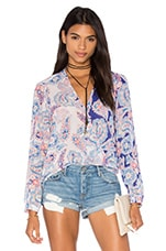 Lilian Top en Paisley Love