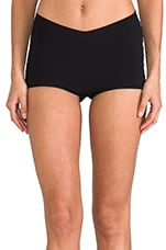 Lily Cheekie Boy Shorts in Black