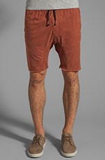 Sureshot Short in Terracotta