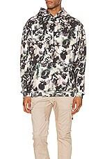 Zanerobe Foliage Hood Sweater in Moss Multi