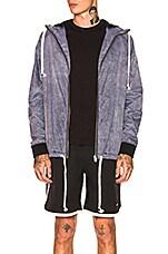 Zanerobe Storm Spray Jacket in Scratched Grey