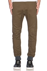 Dynamo Chino in Military Green