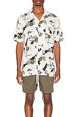 Zanerobe Solar Print Shirt in Shell