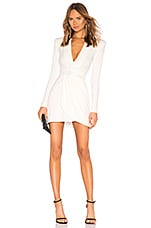 Zhivago Eye Of Horus Mini Dress in White