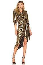 Zhivago Picture This Dress in Gold