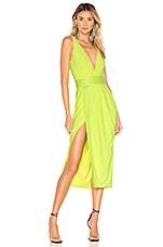Zhivago Le Loft Dress in Neon Green