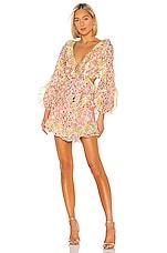 Zimmermann Goldie Spliced Dress in Spliced