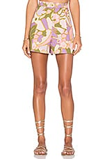 SHORT LOTTE QUILTED FLARE