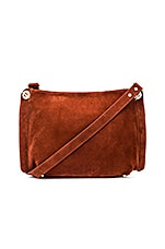 Shoulder Crossbody Bag in Cognac