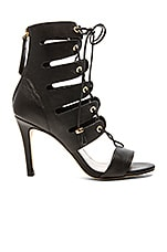 Tassel Hybrid Sandal in Black