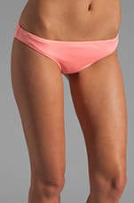 Emmi Reversible Bottoms in Sunrise Coral/Pastel Orchid