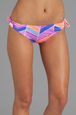 Gidget Bottom in Orchid Chevron
