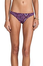 Emmi Reversible Bottom in Rio Print & Rio Red