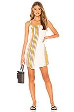 ZULU & ZEPHYR Warm Sand Dress in Warm Stripe