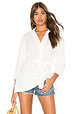 ZULU & ZEPHYR Drifting Shirt in Warm White